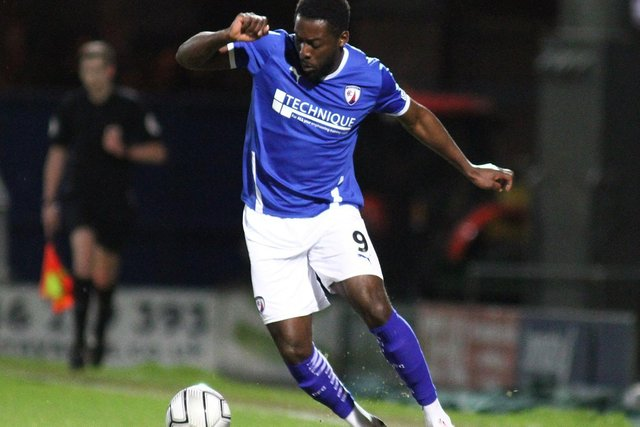 Chesterfield are aiming for back-to-back away wins when they travel to Aldershot Town on Tuesday night.