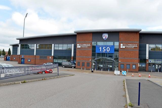 The Spireites will start the new season away at Aldershot Town.