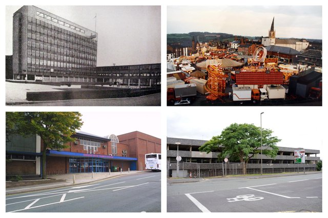 Iconic buildings and sights from Chesterfield of yestertyear