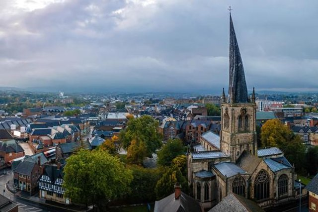 Zoopla statistics reveal the most popular properties currently for sale in Chesterfield and the surrounding area.