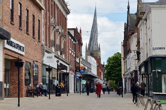 Burlington Street and the Crooked Spire