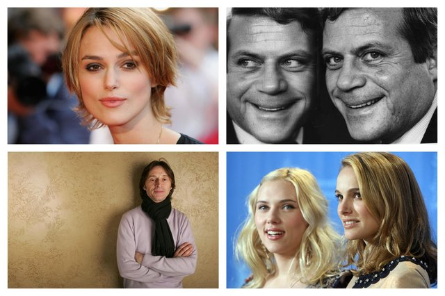 These stars have all filmed in Derbyshire