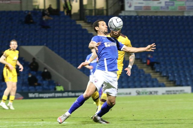 Chesterfield travel to King's Lynn Town on Saturday (3pm KO).