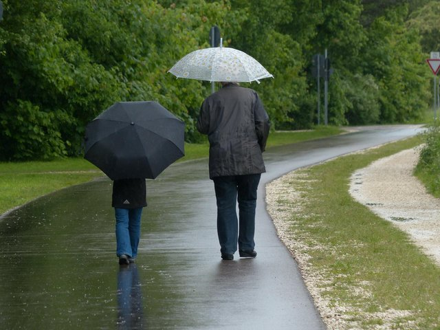 Chesterfield is set to be hit by 18-hours of rain from tonight