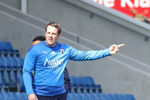 James Rowe says Saturday's clash against Hartlepool United will be a 'benchmark' for his side.