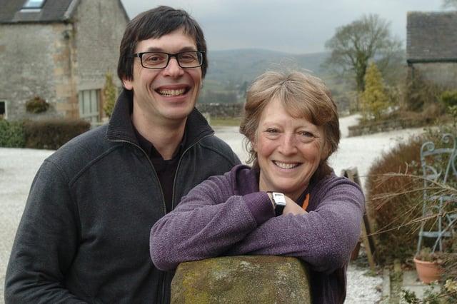 Deborah and Martin Hofman, of Wheeldon Trees Farm Holiday Cottages. Picture: Jason Chadwick.