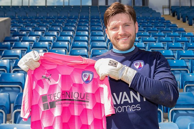 Goalkeeper James Montgomery has signed from Gateshead. Picture: Tina Jenner.