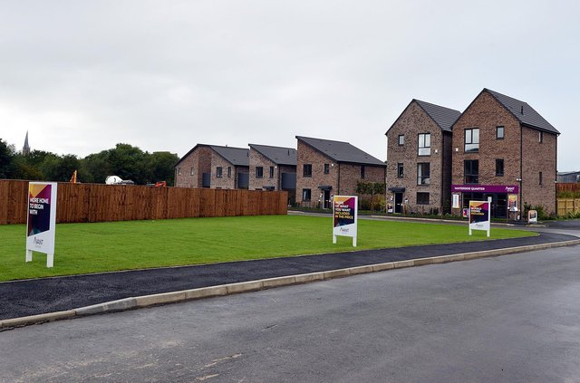 New homes at Waterside development Chesterfield from Avant Homes.