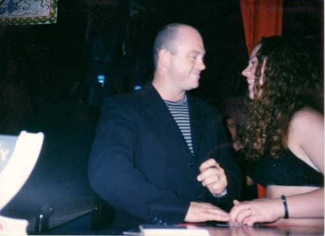 Ross Kemp made a visit to Xanadu in the 1990s