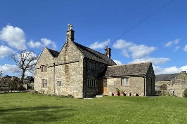 The Manor farmhouse is a Grade II-listed former country pub.