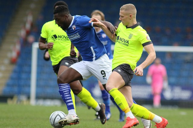 Chesterfield v Weymouth - live updates.