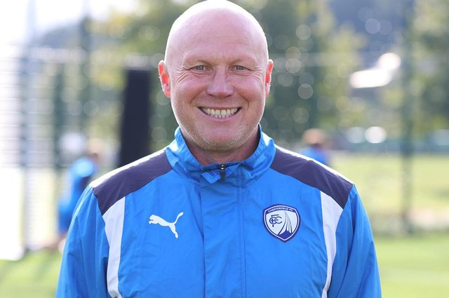 Academy manager Neil Cluxton.