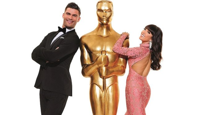 Janette Manrara and Aljaž Škorjanec will bring their Remembering the Oscars show to Buxton in April 2021.