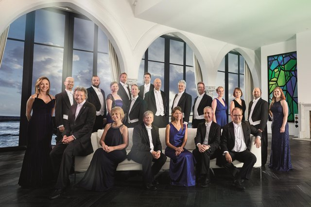 The Sixteen perform at Derby Cathedral on Friday, July 2, 2021.