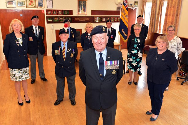 The Chesterfield branch of Royal British Legion is celebrating its 100th anniversary. Pictures by Brian Eyre.