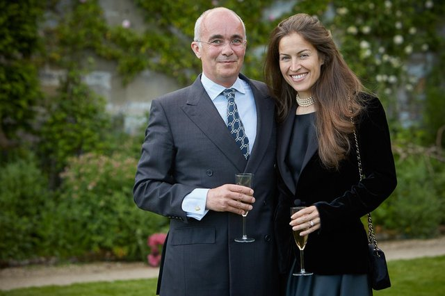 Lord and Lady Edward Manners. Photo by Ian Daisley.