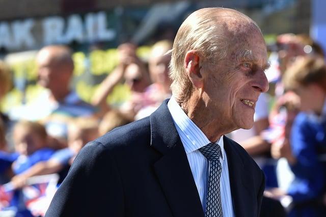 Prince Philip, Duke of Edinburgh, has passed away aged 99. (Photo by Joe Giddens - WPA Pool/Getty Images)