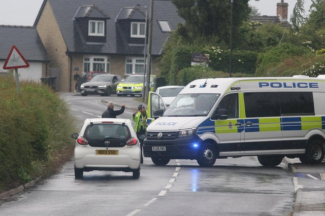 Police have confirmed a woman died in a field at Duckmanton.