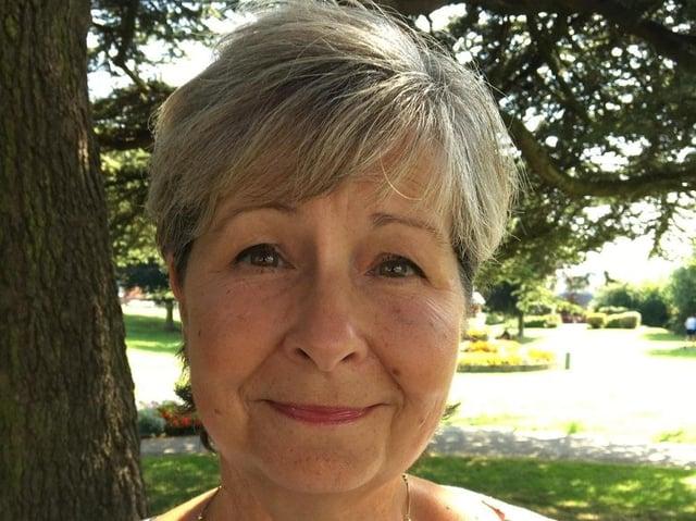 Carol Brewer, organiser of Poet-Trees in Belper.