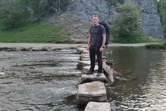 """jimtustin writes: """"Evening hike in the Peak District and finishing off at Dovedale and the stepping stones."""""""