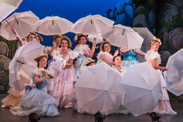 The National Gilbert & Sullivan Opera Company performed The Pirates of Penzance at Buxton Opera House in 2018. Photo by Jane Stokes.