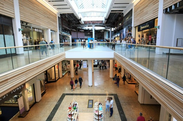 Meadowhall reopened for indoor dining this week.