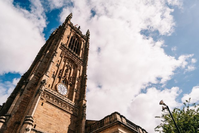 Take a heritage walk around Derby's Cathedral Quarter. Photo by Averill Photography/Mark Averill