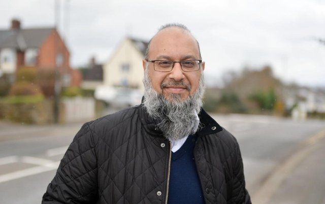 Mahroof Saddique, treasurer of the Muslim Welfare Association of Chesterfield and North Derbyshire.