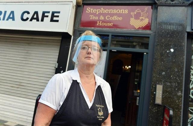 Claire Wood, Stephensons Tea And Coffee House owner,.