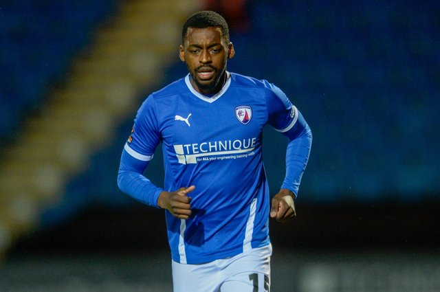 Joel Taylor has left Chesterfield to join Notts County.