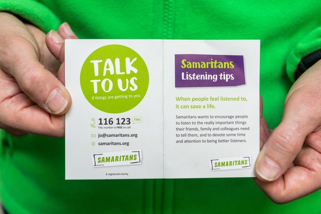You can call Samaritans free on 116 123 if you need help.