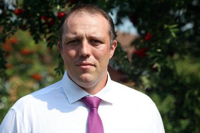 Dean Wallace, Derbyshire's director of public health.