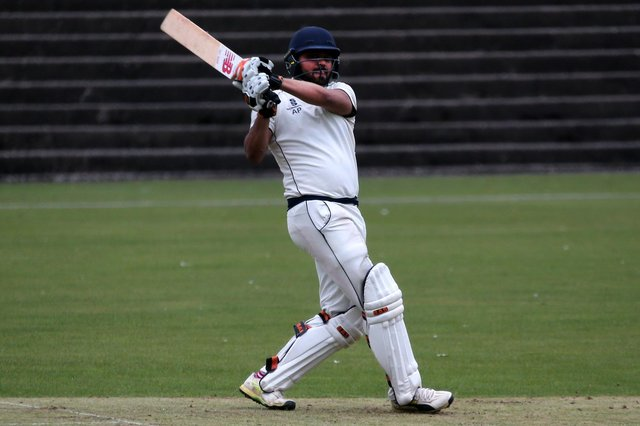 Akhil Patel was in fine form for Langley Mill with both bat and ball.