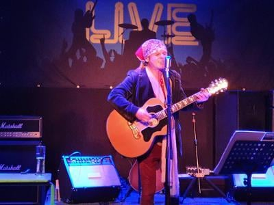 Live music is slow returning, such as Spike from the Quireboys, who brought his acoustic show to Real Time Live in Chesterfield - and it went down a storm.