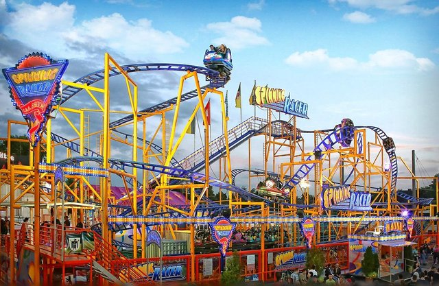 Spinning Racer is among the new attractions at Fantasy Island theme park.