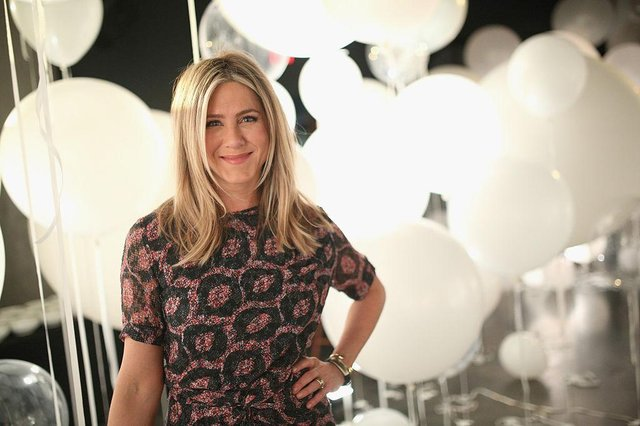 Actress Jennifer Aniston's rescue puppy has been named Lord Chesterfield