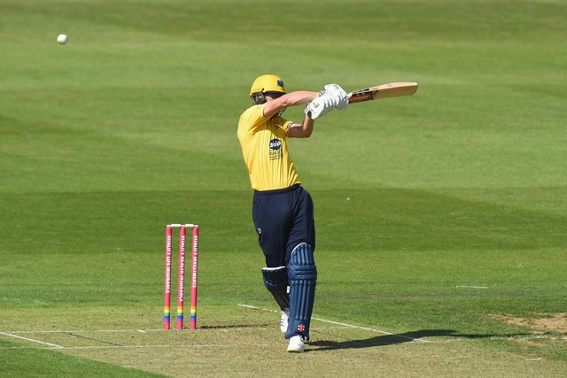 Chris Woakes helped guide Birmingham Bears to victory over Derbyshire Falcons. (Photo by Tony Marshall/Getty Images)