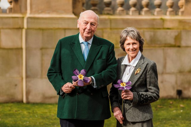 The Duke and Duchess of Devonshire encourage the community to come together to reflect.