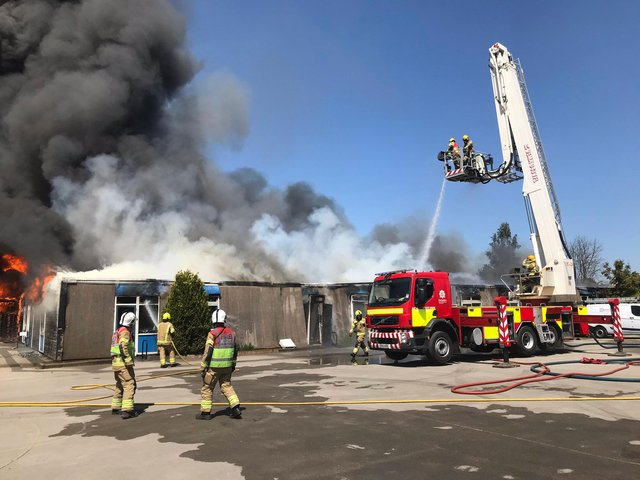 Harrington Junior School in Long Eaton burned down in an accidental blaze last May.