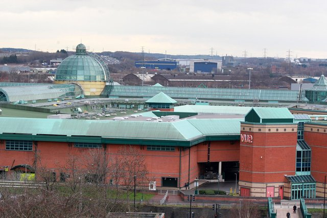 A shoplifter who struck at Meadowhall Shopping Centre, pictured, has been given a chance after Sheffield Crown Court learned she is facing a life-threatening condition.