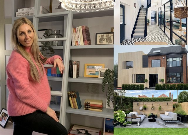 Couple Buy Drab 1930s Home For 300k Then Shell Out Almost The Same Amount Again To Turn Into Their Dream Five Bedroom Modern Masterpiece Derbyshire Times