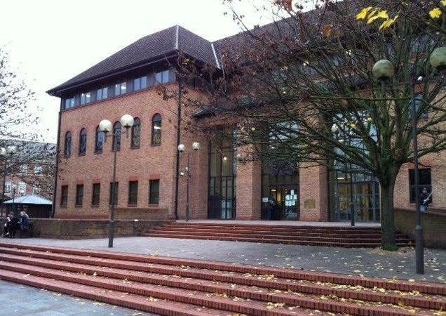 Mark Hamilton in on trial at Derby Crown Court