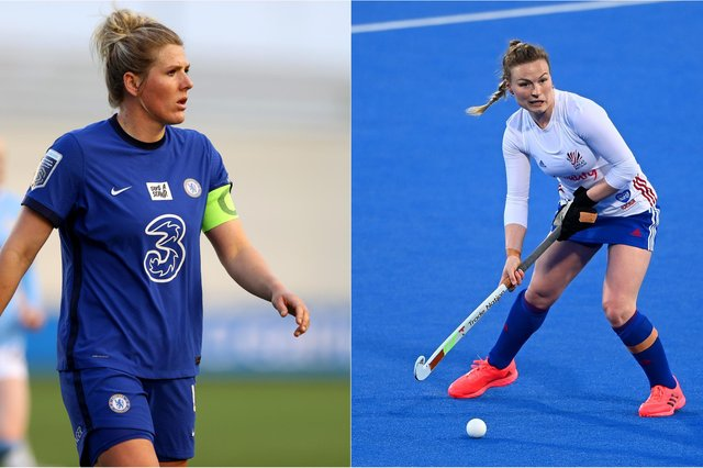 Millie Bright (left) and Hollie Pearne-Webb will be going for gold in Tokyo.