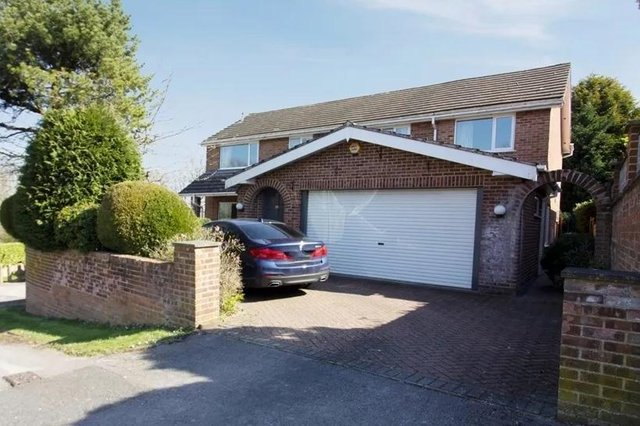 """This five-bedroom property is described as an """"ideal family home""""."""