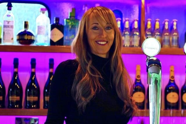 Helen Miller set up the mobile bar business in 2017.