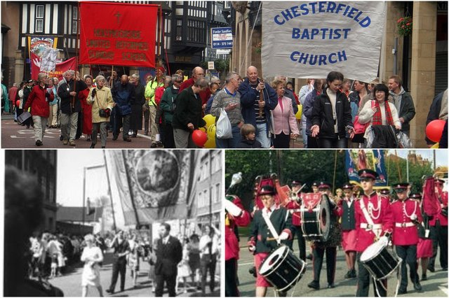 The Procession of Witness has been a popular event on Chesterfield's calendar for more than 170 years.