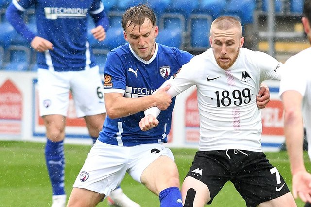 Martin Smith has left Chesterfield and joined Hartlepool United.