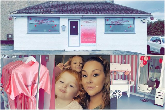 Chesterfield children's pamper party business unveils makeover ahead of reopening after a year of being shut