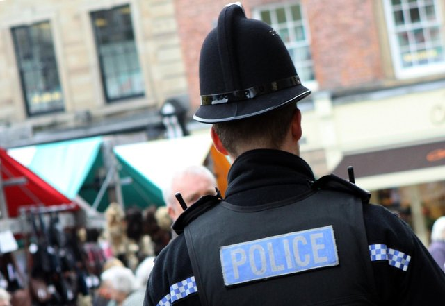 An investigation has been launched after a man allegedly sexually exposed himself to a teenage girl in Buxton.