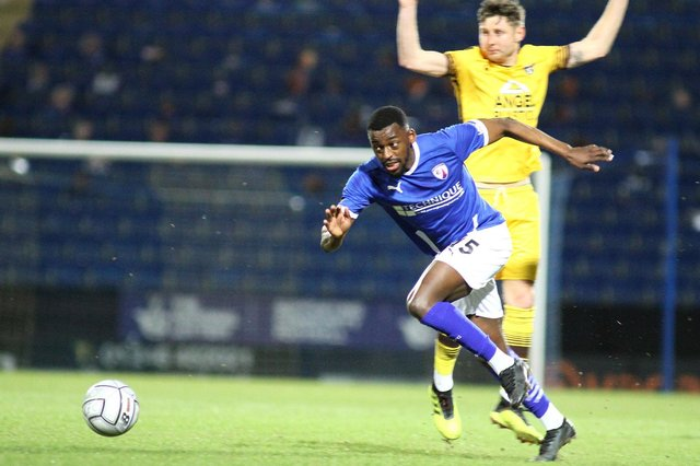 Joel Taylor was one of the players Chesterfield paid a fee to an agent for.